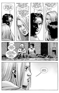 The Walking Dead #138- Lydia tells Carl that The Whisperers don't recognize the word 'rape'
