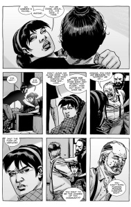 The Walking Dead #138- Maggie awakens and orders Gregory to be locked up