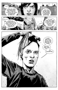 The Walking Dead #138- Maggie meets The Whisperers' leader, Alpha