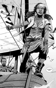 The Walking Dead #139- Michonne returns