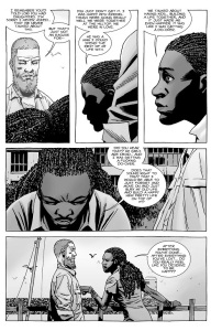 The Walking Dead #139- Michonne talks about getting a do-over and being happy