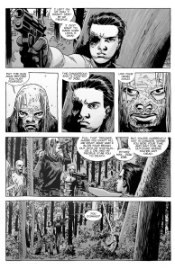 The Walking Dead #139- The Whisperers find Carl