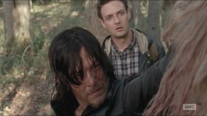 Try- Daryl and Aaron find a woman
