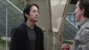 Try- Glenn confronts Nicholas over what happened to Noah and Aiden