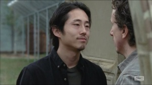 Try- Glenn isn't threatening Nicholas