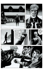 Try- The Walking Dead #75, Rick goes to Pete and Jessie's place