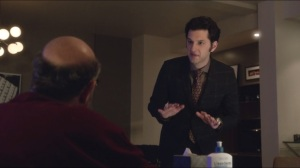 We're Going to Build a Mothership and Rule the Universe- Clyde tells Harvey he can't use his cancer and the Holocaust to justify jacking off