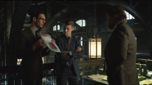 Beasts of Prey- Nygma shows Gordon and Bullock a photocopy of a broken heart
