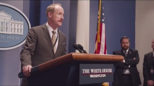 East Wing- Mike addresses the press