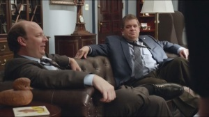 Joint Session- Jonah meets Chief of Staff Teddy Sykes, played by Patton Oswalt