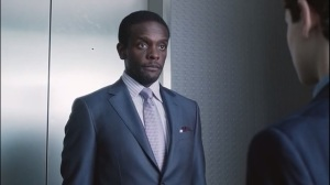 The Anvil or the Hammer- Lucius Fox, played by Chris Chalk, speaks with Bruce about Thomas Wayne