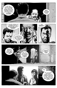 The Walking Dead #140- Gregory questioned on how he tried to poison Maggie