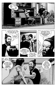 The Walking Dead #140- Jesus and Maggie talk about Gregory