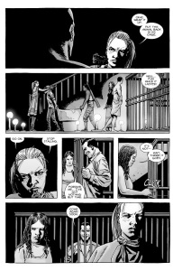 The Walking Dead #140- Negan is ordered back into his cell