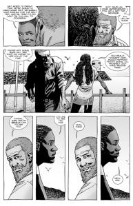 The Walking Dead #140- Rick and Michonne talk