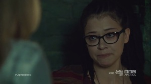 The Weight of This Combination- Cosima learns that Delphine is breaking up with her