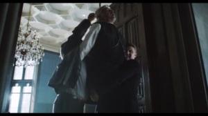Under the Knife- Gordon and Bullock cut down Jacob Skolimski, played by Daniel Davis