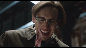 Under the Knife- Nygma laughs after stabbing Dougherty