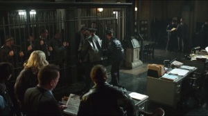 All Happy Families Are Alike- GCPD putting criminals into holding cells
