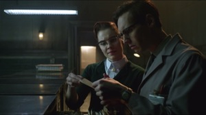 All Happy Families Are Alike- Miss Kringle asks Nygma about Dougherty's note