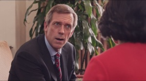 Convention- Hugh Laurie as Tom James