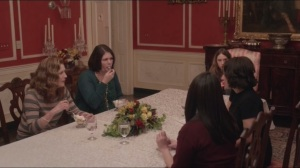 Mommy Meyer- Dinner with Catherine, Selina, and Selina's friends