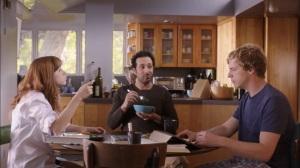 Pilot- Jimmy's roommate, Edgar, played by Desmin Borges, prepares breakfast