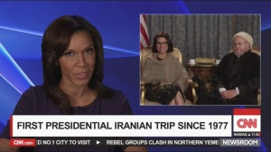 Tehran- CNN reports on Selina's trip