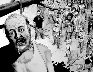 The Walking Dead #141- Gregory's hanging