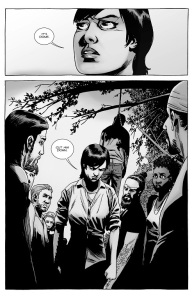 The Walking Dead #141- Maggie wants Gregory's body cut down