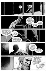 The Walking Dead #141- Negan taunts Rick