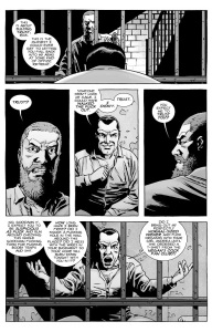 The Walking Dead #141- Negan tries to get Rick to trust him