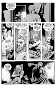 The Walking Dead #141- Rick talks with Andrea about Negan
