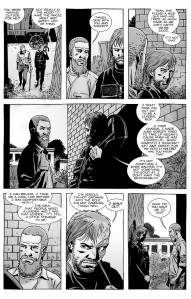 The Walking Dead #141- Rick talks with Dwight