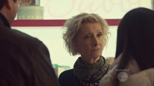 Community of Dreadful Fear and Hate- Alison and Donnie speak with Alison's mother, Connie, played by Sheila McCarthy