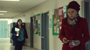 Community of Dreadful Fear and Hate- Cosima shows up at the school and is mistaken for Alison