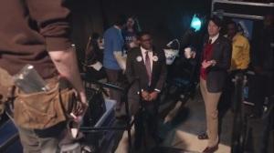 Election Night- Jonah and Richard at the Baltimore rally