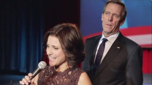 Election Night- Selina joins Tom on stage