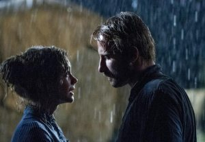Far from the Madding Crowd- Bathsheba and Gabriel in the rain