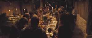 Far from the Madding Crowd- Dinner and singing