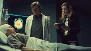 History Yet to be Written- Dr. Nealon and Delphine with Krystal's body