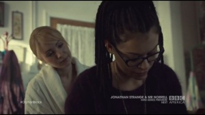 Insolvent Phantom of Tomorrow- Cosima with Shay after going through Delphine's file