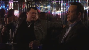 Night Finds You- Frank meets Danny Santos, played by Pedro Miguel Arce, at a nightclub