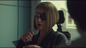 Ruthless in Purpose, and Insidious in Method- Rachel is a threat to Delphine