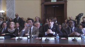 Testimony- Amy, Dan, Jonah, and Richard testify; Jonah is asked about sexual harassment