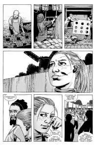 The Walking Dead #142- Andrea is overjoyed at the idea of the fair