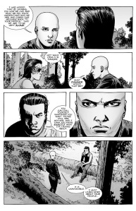 The Walking Dead #142- Carl speaks with Alpha