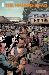 The Walking Dead #142- Cover