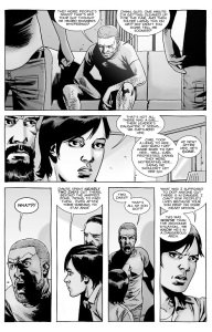 The Walking Dead #142- Jesus and Maggie tell Rick about Carl and The Whisperers