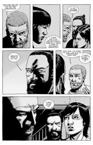 The Walking Dead #142- Rick learns that Gregory tried to kill Maggie